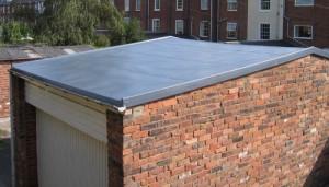 glass fibre roof